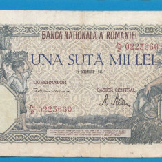 100000 lei 1946 21 Octombrie 12 - Bancnota romaneasca