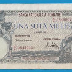 100000 lei 1946 20 decembrie 13 - Bancnota romaneasca