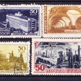 Timbre RUSIA 1947 = LOT DIVERSE, Stampilat