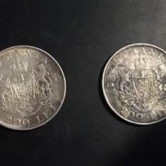 200 lei 1942 monede argint - Moneda Romania