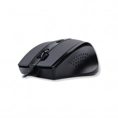 MOUSE A4TECH D-770FX, WIRED, GRIP, USB BLACK