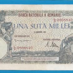 100000 lei 1946 20 decembrie 11 - Bancnota romaneasca