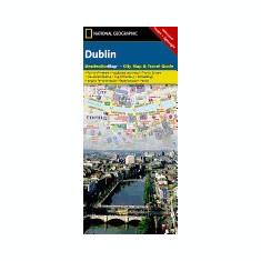 Dublin City Map & Travel Guide - Carte in engleza