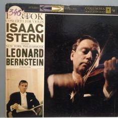 BARTOK - Concert for Violin - Isaac Stern/L.Bernstein (1965/CBS/USA) - Vinil/RAR - Muzica Clasica Columbia