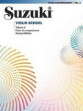 Suzuki Violin School, Volume 4: Piano Accompaniment