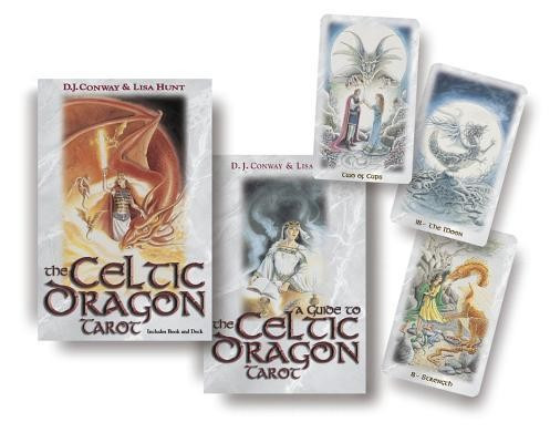 The Celtic Dragon Tarot Kit [With Tarot Cards] foto mare