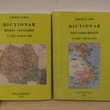 DICTIONAR ROMAN -VIETNAMEZ, VIETNAMEZ -ROMAN (2 VOLUME)
