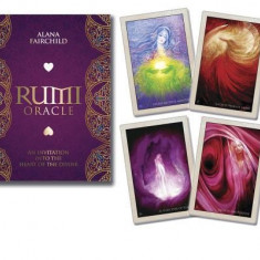 Rumi Oracle: An Invitation Into the Heart of the Divine - Carte in engleza