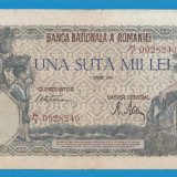100000 lei 1946 1 aprilie 2 - Bancnota romaneasca