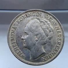 Moneda argint 1 gulden 1939 Olanda, Europa