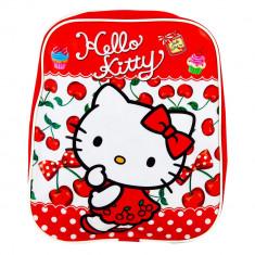 Ghiozdan rosu Hello Kitty, 28522RD - Rucsac Copii