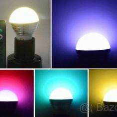 Bec LED Colors RGB 16 culori cu telecomanda, Becuri inteligente, E27