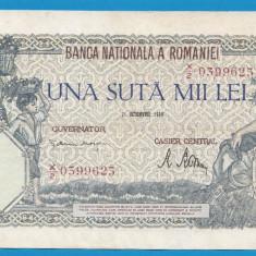 100000 lei 1946 21 Octombrie 10 - Bancnota romaneasca