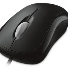 Mouse MICROSOFT; model: BASIC OPTICAL MOUSE 1113; NEGRU; USB;