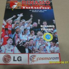 Program Dinamo - Dinamo Tirana - Program meci