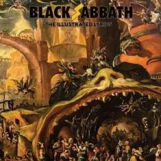 Black Sabbath: The Illustrated Lyrics, Vol 1: Supernatural Horror in Music - Carte in engleza