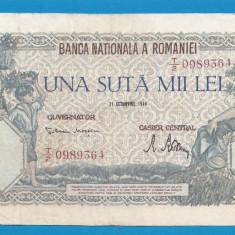 100000 lei 1946 21 Octombrie 14 - Bancnota romaneasca