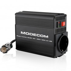 INVERTOR DE TENSIUNE MODECOM 150W - Invertor Auto