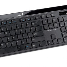 Kit Tastatura + Mouse GENIUS; model: SLIMSTAR I8150; layout: US; NEGRU; USB;