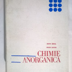 E. Beral, M. Zapan – Chimie anorganica - Carte Chimie