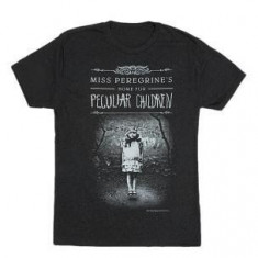Miss Peregrine's Home for Peculiar Children Unisex T-Shirt: Size XL - Carte in engleza