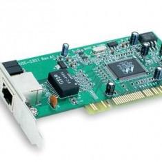 PLACA DE RETEA: D-LINK DGE-528T; 10/100/1000 Mbps; PCI