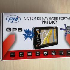 Sistem de navigatie PNI L807, ecran 7 inchi,, 7 inch, Toata Europa