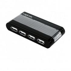 LOGILINK HUB; USB 2.0 F la 7xUSB 2.0 M; AU0114