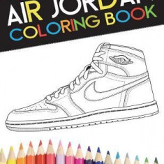 Air Jordan Coloring Book - Carte de colorat