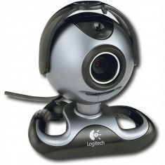 WEBCAM CU MICROFON LOGITECH; model: QUICK PRO5000; REF