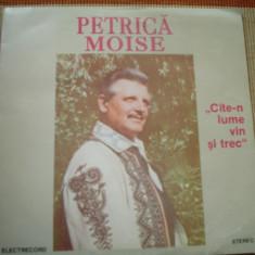 Petrica moise cate n lume vin si trec album disc vinyl lp Muzica Populara electrecord banat, VINIL