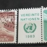 NATIUNILE UNITE VIENA 1983 – FAO, serie stampilata UN45 - Timbre straine