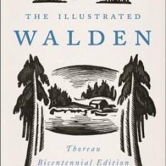 The Illustrated Walden: Thoreau Bicentennial Edition - Carte in engleza