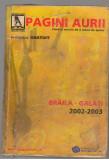 (C7358) PAGINI AURII, BRAILA GALATI, 2002-2003