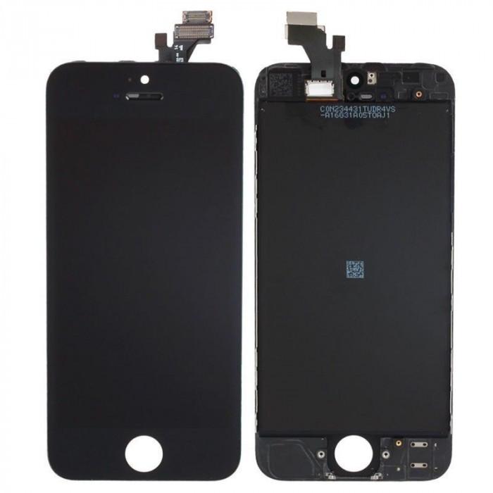 Display LCD Touchscreen iPhone 5S Alb Negru NOU LCD ecran afisaj Touch Ansamblu