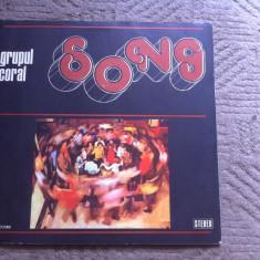 Grupul Coral Song Ioan Luchian Mihalea album disc vinyl lp Muzica Pop electrecord corala, VINIL