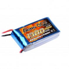 Acumulator LiPo Gens ace 1300mAh 7.4V 25C 2S1P