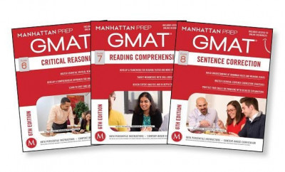 GMAT Verbal Strategy Guide Set, 6th Edition foto
