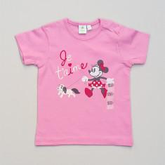 Tricou cu imprimeu Minnie in fata