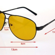 Ochelari de soare, Ochelari pentru condus, ceata, noaptea sau zi - model 18328