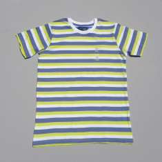 Tricou cu dungi multicolor