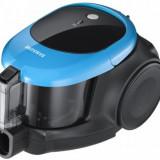 Aspirator fara sac Samsung VCC44E0S3B/BOL, 1500W, 1.3l (Negru-Albastru)