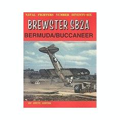Brewster SB2A Bermuda/Buccaneer - Carte in engleza
