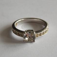 Inel de argint cu zirconiu -1298 - Inel argint