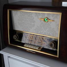 Radio lampi Nordmende Carmen 55/ 3D, complet restaurat - Aparat radio