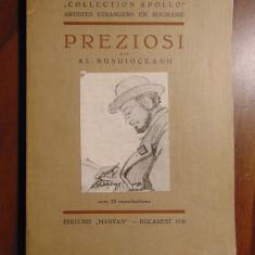 Preziosi (album) - Al. Busuioceanu (1935) Limba franceza - Carte veche