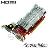 Placa video PowerColor HD3450 256MB DDR2 64-Bit, DVI, VGA, HDMI, GARANTIE !