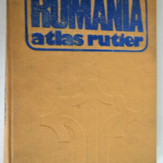 Atlas rutier Romania - 1981