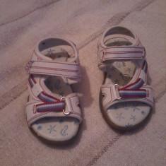 Sandale fetite din piele Oviesse marimea 23 - Sandale copii Made in Italia, Culoare: Din imagine, Fete, Piele naturala