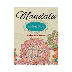 Mandala Coloring Book (Color Me Now) - Carte de colorat